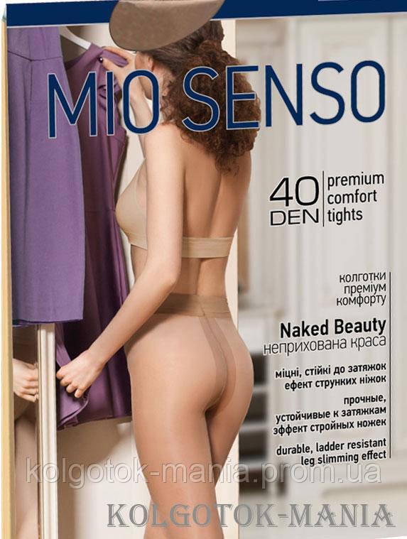 "Колготки Mio Senso ""Naked Beauty 40 den"" grey ,size 4"