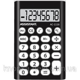Калькулятор Assistant AC-1116  black