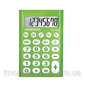 Калькулятор Assistant AC-1116 green