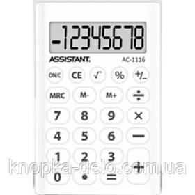 Калькулятор Assistant AC-1116 white
