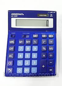Калькулятор Assistant АС-2308 dark blue
