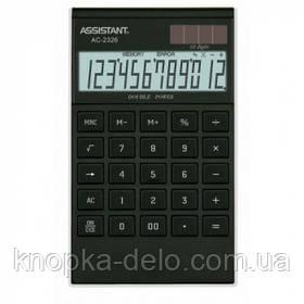 Калькулятор Assistant АС-2326 black/silver