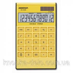 Калькулятор Assistant АС-2326 yellow