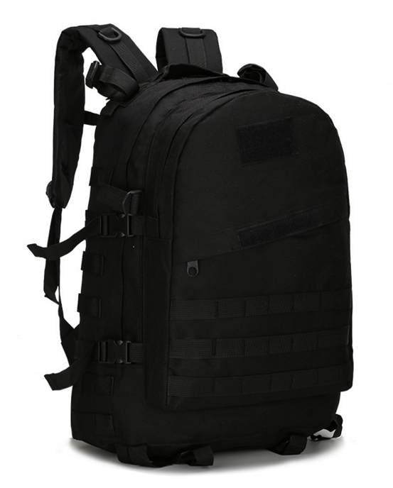 Городской тактический штурмовой военный рюкзак  ForTactic на 40литров Черный