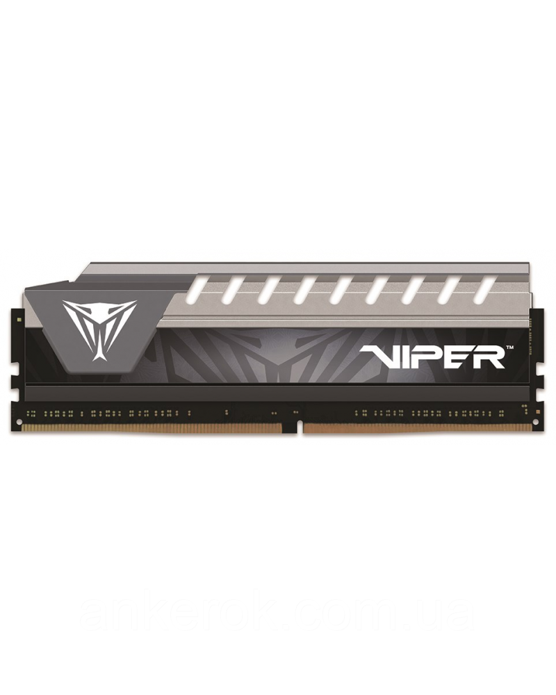 Оперативна пам'ять PATRIOT 8 GB DDR4 2666 MHz Viper Elite Gray (PVE48G266C6GY)