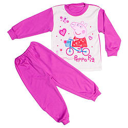 Пижама пеппа для девочек сиреневая