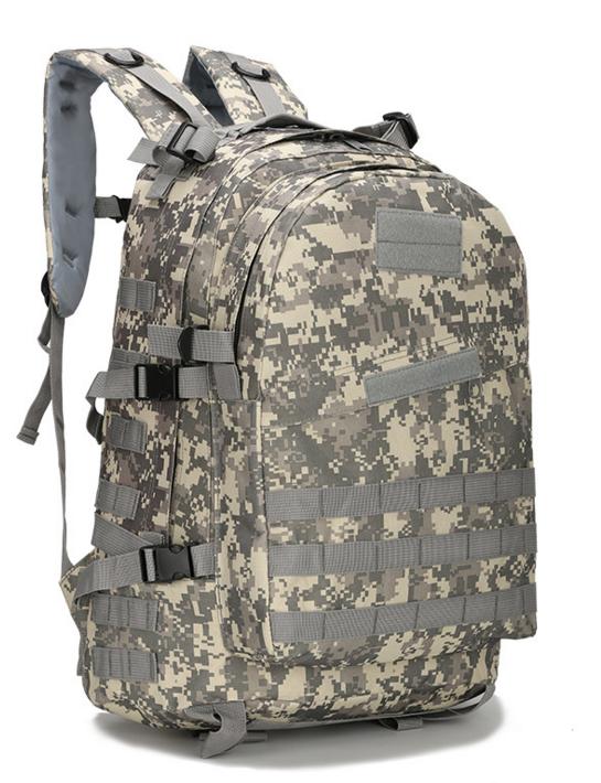 Городской тактический штурмовой военный рюкзак  ForTactic на 40литров Пиксель