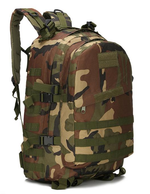 Городской тактический штурмовой военный рюкзак  ForTactic на 40литров Вудленд