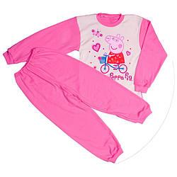 Пижама пеппа для девочек розовая