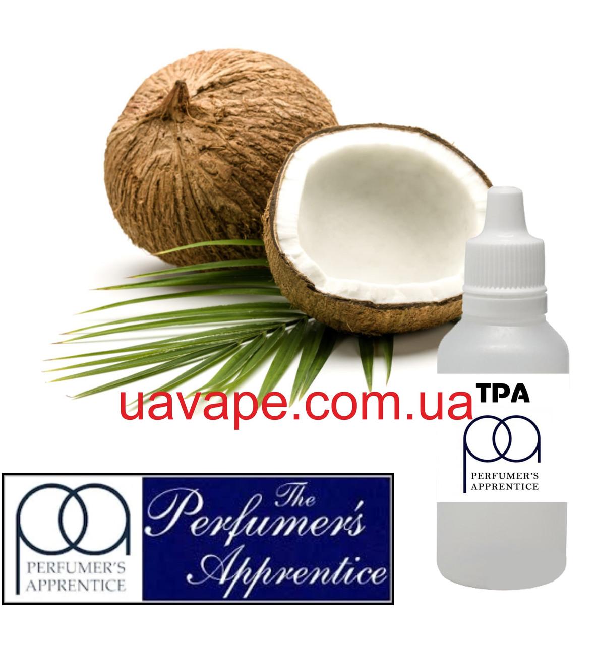 Ароматизатор Coconut Flavor ТПА Кокос ароматизатор, 10 мл