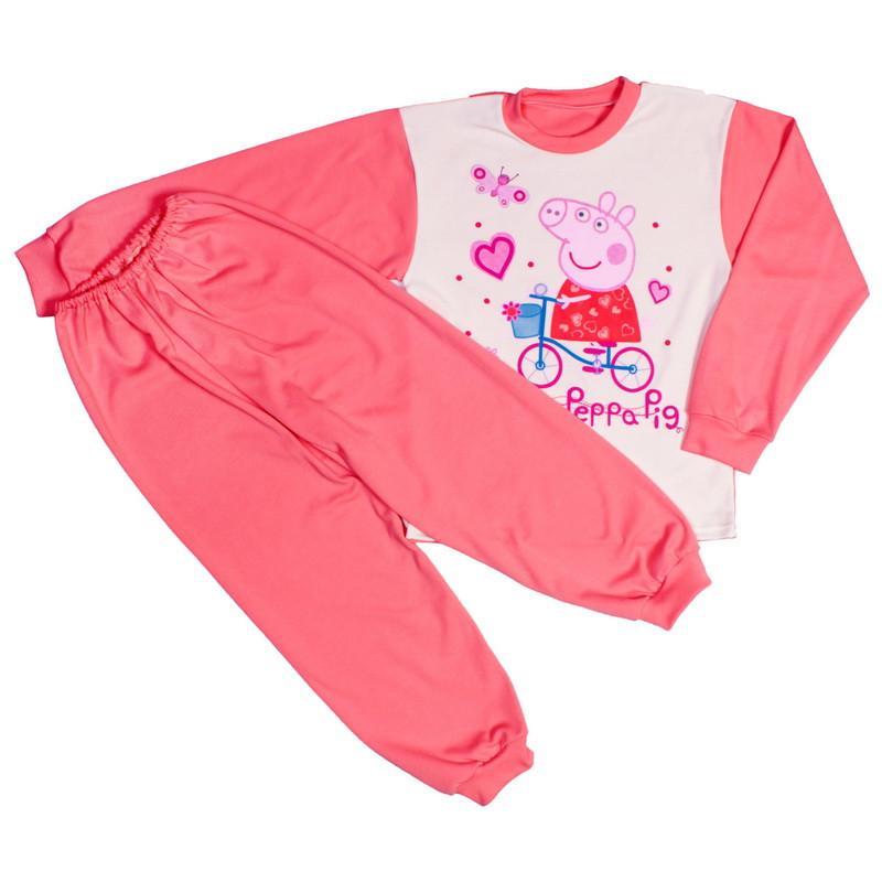 Пижама пеппа для девочек интерлок