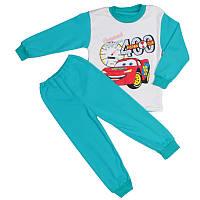 Пижама тачки для мальчиков бирюзовая