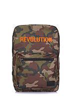 Камуфляжный рюкзак POOLPARTY Revolution