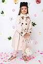 Плащ для девочки бренда Barbarris Размеры 122- 146, фото 9