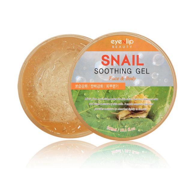 Многофункциональный успокаивающий гель с муцином улитки Eyenlip Snail Soothing Gel 300 мл