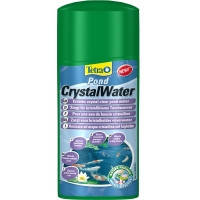 Tetra Pond CrystalWater эффективно удаляет частички грязи, 250мл