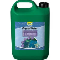Tetra Pond CrystalWater эффективно удаляет частички грязи, 3л