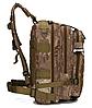 Тактический штурмовой военный городской рюкзак ForTactic на 23-25литров Хаки, фото 2