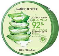 Универсальный увлажняющий гель с алое Nature Republic Soothing&Moisture Aloe Vera 92% Soothing Gel 300 мл