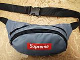 Сумка на пояс Supreme новий/Спортивні барсетки сумка жіночий і чоловічий Поясна сумка Бананка оптом, фото 2