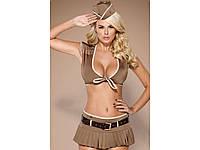Игровой эротический костюм солдата Obsessive 814-CST-4 soldier, фото 1
