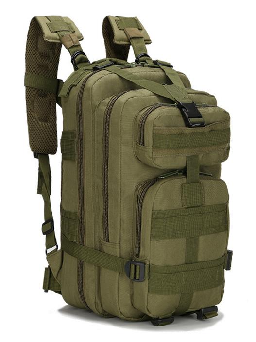 Тактический штурмовой военный городской рюкзак ForTactic на 23-25литров Хаки