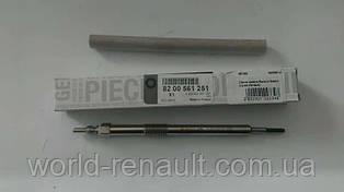 Свечи накала на Рено Мастер III 2.3dci M9T c 2010г. / Renault (Original) 8200561251