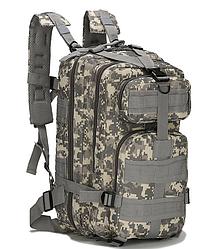 Тактический штурмовой военный городской рюкзак ForTactic на 20литров Пиксель