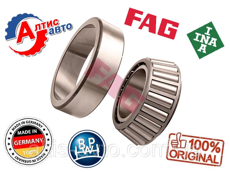 Подшипник ступицы BPW, SAF, Schmitz роликовый конический, оригинал Fag