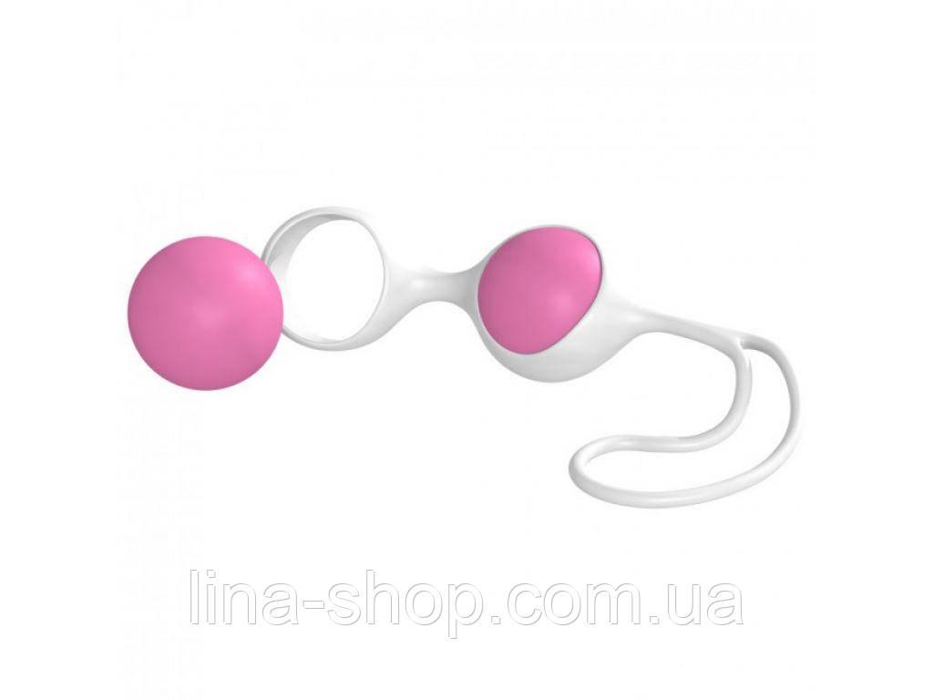 Вагинальные шарики Minx Discretion Love Balls White Pink OS