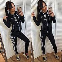Женский спортивный костюм c полосками по бокам ADIDAS