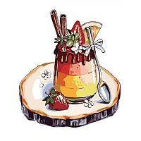 """Роспись по номерам """"Любимый десерт"""" в термопакете 30*40см., ТМ ArtStory Артикул: AS0314 Ухти-Тухти Кривой Рог"""