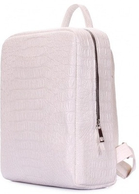 38760912597d Рюкзак кожзам POOLPARTY cult-croco-white 7 л женский белый, цена 972 грн.,  купить в Киеве — Prom.ua (ID#872048829)