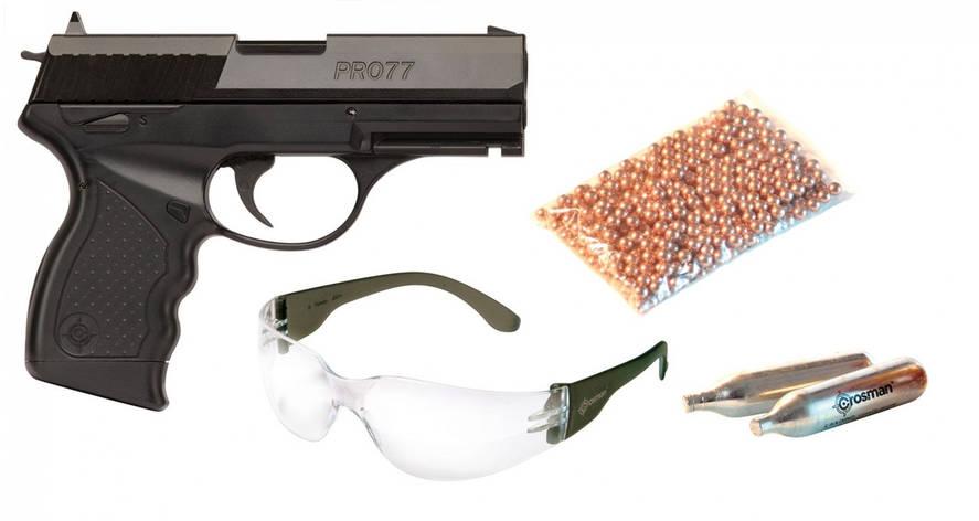 Пневматический пистолет Crosman Pro 77 Kit, фото 2