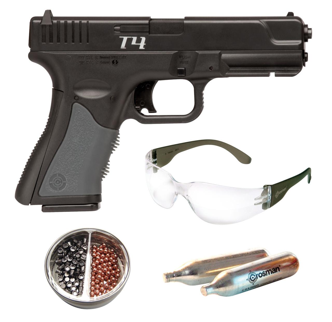 Пневматический пистолет Crosman T-4 Kit