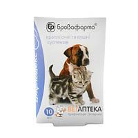 Цифлодекс 10 мл капли глазные и ушные для кошек и собак суспензия