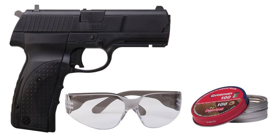 Пневматичний пістолет Crosman 1088 Kit, фото 2
