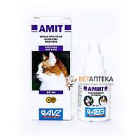 Амит 20 мл капли противопаразитарные для кошек и собак АВЗ Россия