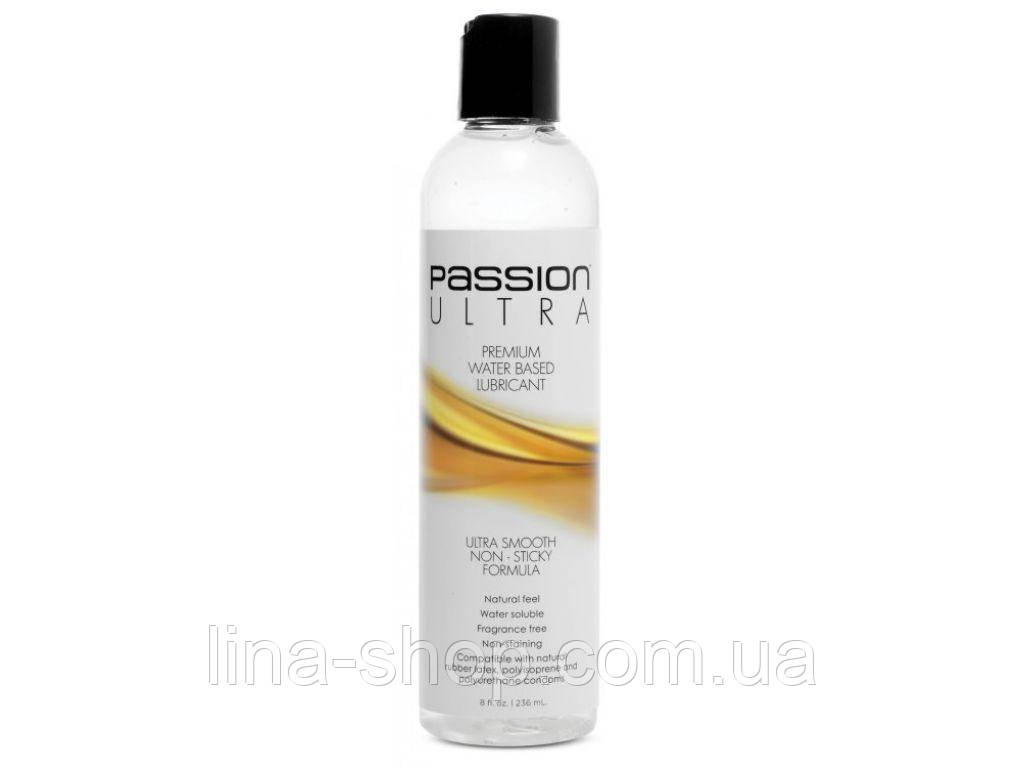 Лубрикант PassionUltra Premium Water-based Lube, 236 мл