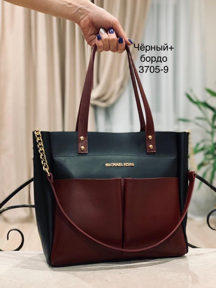86f56c100926 Женская кожаная сумка копия топ качества Michael Kors - Самый популярный  интернет магазин Big Boss в
