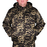 Костюм зимний куртка под резинку + штаны UkrCamo ЗКШПР 48р. Пиксель тёмный, фото 3