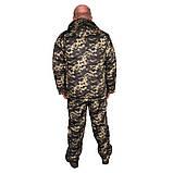 Костюм зимний куртка прямая + штаны UkrCamo ЗКШПД 48р. Пиксель тёмный, фото 2