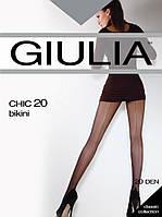 Эротические колготы со швом 20Den GIULIA chik Bikini