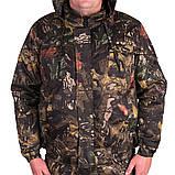 Костюм зимний куртка под резинку + штаны ФЛИС UkrCamo ЗКШДРф 48р. Дубок тёмный, фото 4