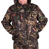 Костюм зимний куртка под резинку + штаны ФЛИС UkrCamo ЗКШДРф 48р. Дубок тёмный, фото 5