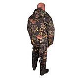Костюм зимний куртка прямая + штаны UkrCamo ЗКШДД 48р. Дубок тёмный, фото 3