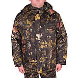 Костюм зимний куртка прямая + штаны UkrCamo ЗКШДД 48р. Дубок тёмный, фото 5