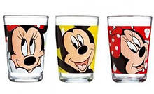 Набор низких стаканов 3шт. LUMINARC Oh Minnie 160мл