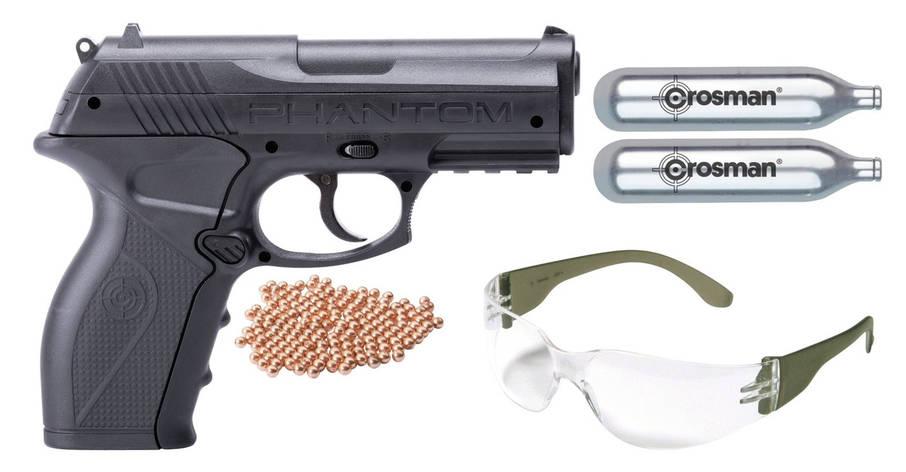 Пневматичний пістолет Crosman Phantom Kit, фото 2