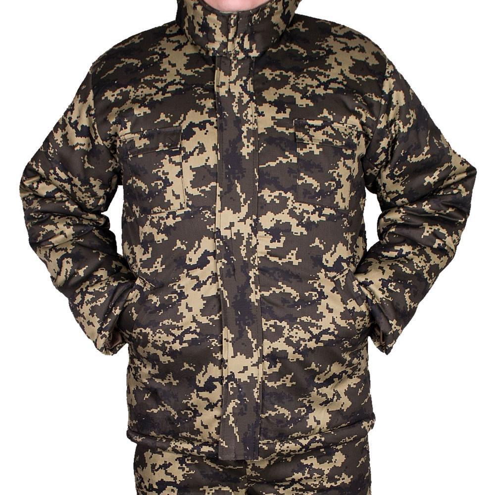 Куртка прямая UkrCamo ЗКПД 52р. Пиксель тёмный